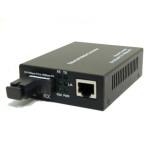 Медия конвертор 100Mbps Bi-Di SC (втора употреба)