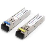 SFP (mini GBIC) модул 1,25Gbit/s по едно влакно 20km (втора употреба)