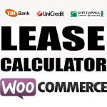 WooCommerce Lease Calculator plugin